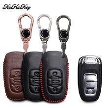 Кожаный чехол для ключей kukakey сумка audi b6 b7 b8 a4 a5 a6
