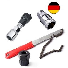 Bicycle Tools 4 in 1 Pedal Drive Bottom Bracket Crank sprock