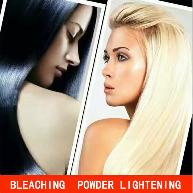 Professional Beauty Hair Care Permanent White Gold Hair Bleaching