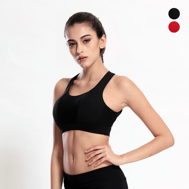 60e5fcf2c FITTIN Racerback Sports Bras - Padded Seamless High Impact Support For Yoga  Gym Workout Fitness