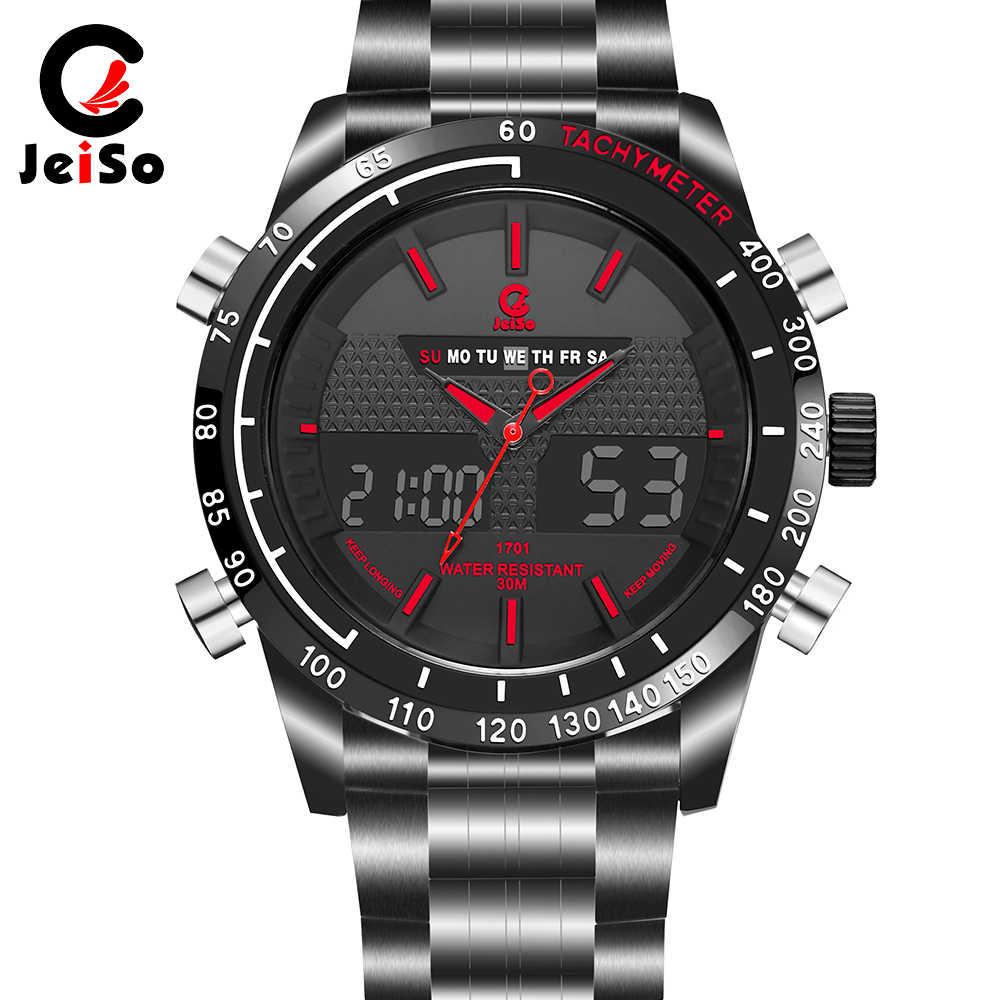 1701 alliage montre hommes mode Sport Quartz horloge hommes montres Top marque luxe affaires étanche montre Relogio Masculino