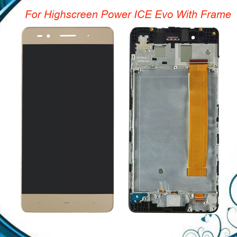 For 5 inch Highscreen Power ICE Evo LCD Display+Touch Screen With Frame Digitizer Assembly Replacement FreeShipping IN StockFor 5 inch Highscreen Power ICE Evo LCD Display+Touch Screen With Frame Digitizer Assembly Replacement FreeShipping IN Stock