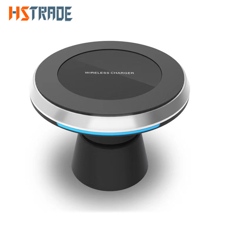 HSTRADE Mini Fast Qi Wireless Charger USB Charge Pad For iPhone X 8 Plus Samsung font