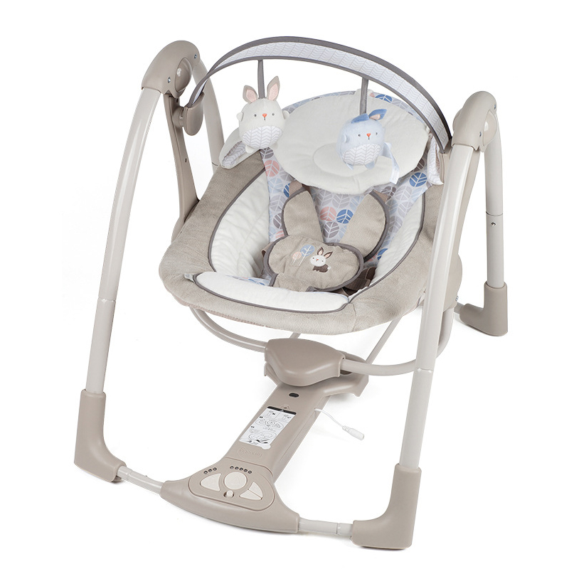 2018 New Baby Rocking Chair Baby Electric Rocking Chair Comfort Chair Cradle Bed