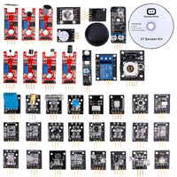 1 Sets 37 In 1 Box Sensor Kit Module Suite Variety For Arduino With Retail Box