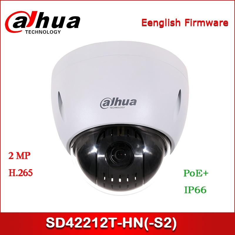 Dahua IP Camera 2MP SD42212T-HN(-S2) 5.3mm~64mm 12x Starlight PTZ Network Camera Support PoE+ Security Camera