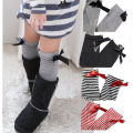 Baby Kids Gifts Children Girls Long Over Knee Lovely Cotton Bowtie Soft Socks