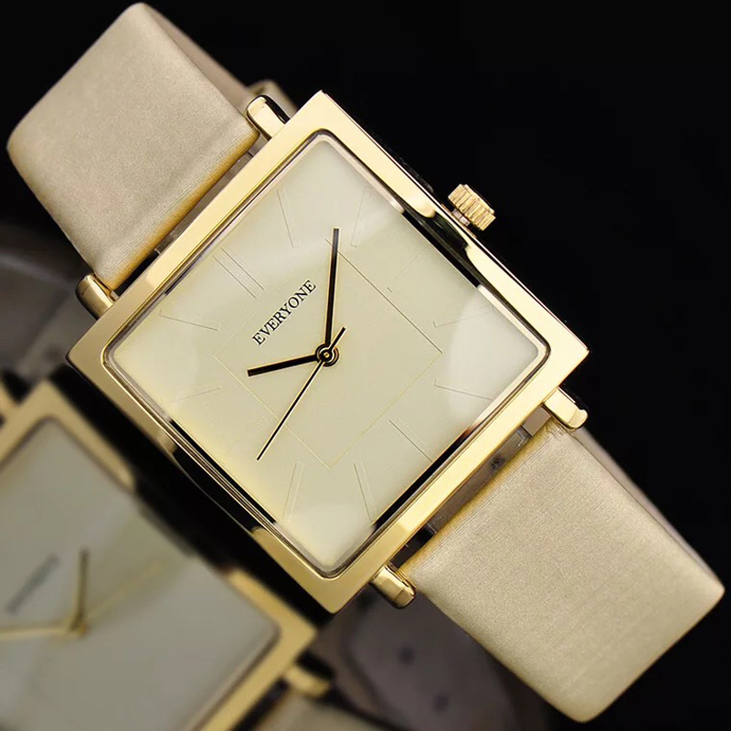 2ebe238f028 Melhor 2018 Novo Genuíno Couro de Quartzo Relógio de Senhora Relógios Das  Mulheres De Luxo Antigo Quadrado Elegante Dress Watch Relogio feminino  Montre ...
