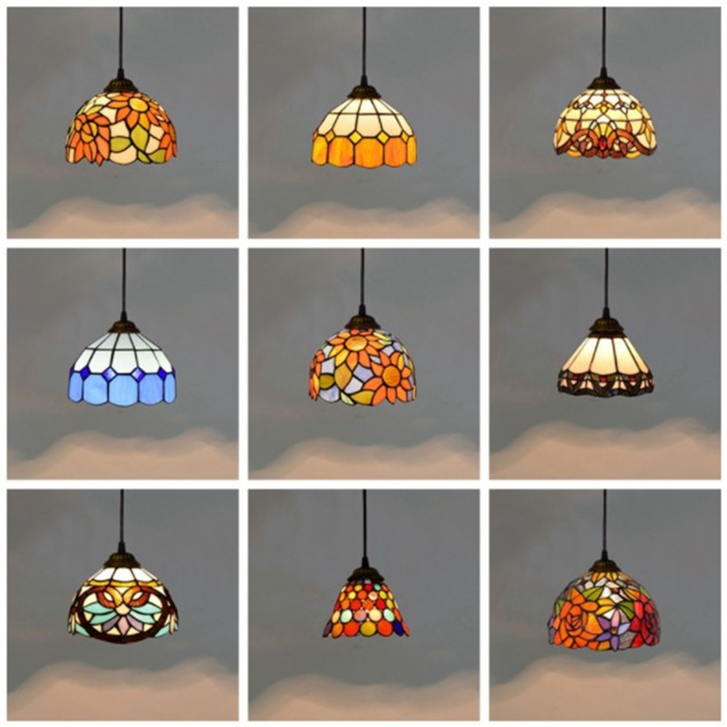 Colorful Mediterranean Style Moroccan Lamp Stained Glass Shade Mosaic LED Pendant Light for dining room bar lightingColorful Mediterranean Style Moroccan Lamp Stained Glass Shade Mosaic LED Pendant Light for dining room bar lighting