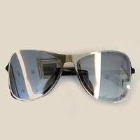 Oval Women Sunglasses High Quality with Packing Box Oculos De Sol High Quality with Packing Box Retro Fashion Original Sun Glass