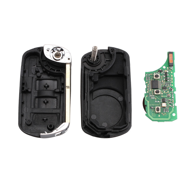 Image 4 - KEYYOU 433MHz 3 Buttons Flip Folding Remote Control Key Remote Car Key Fob For RANGE ROVER Sport Land Rover Discovery 3-in Car Key from Automobiles & Motorcycles