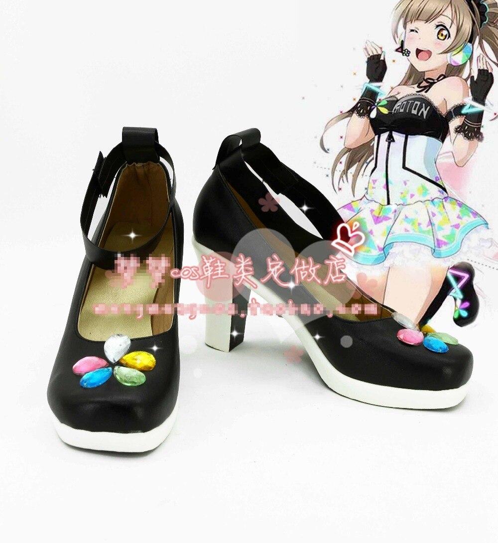 Love Live! Gaming Awaken All Members Minami Kotori Cosplay Shoes Free Shipping