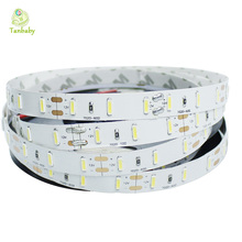 Tanbaby LED Strip 7020 SMD DC12V 60 led/M flexible rope Non-waterproof white warm white ulter bright indoor festival decoration