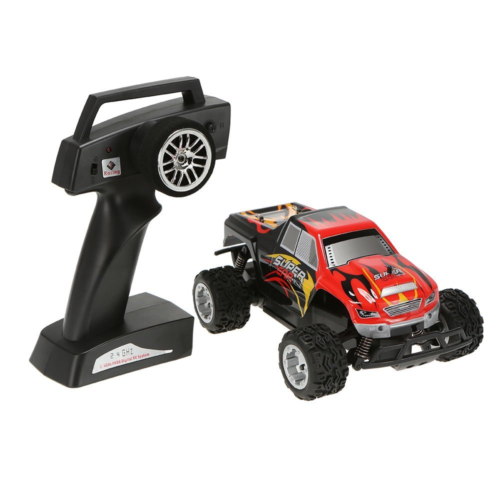 Rtr Rc Trucks Electric Us 43 69 Wltoys L343 1 24 2 4g Electric Brushed 2wd Rtr Rc Monster Truck Rtr In Rc Cars From Toys Hobbies On Aliexpress Alibaba Group
