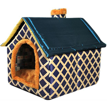 Fashion High Quality Dog House Soft Comfortable Dog Kennel Removable Pets Products for Dogs and Cats Warm Dog Sleeping Bag