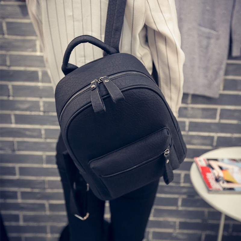 ФОТО Famous Brand Women Shoulder Bag Rucksack 2016 Designer Scrub Rugzak Backpack Women Laptop Backpack Sac A Dos Bolsas Feminina