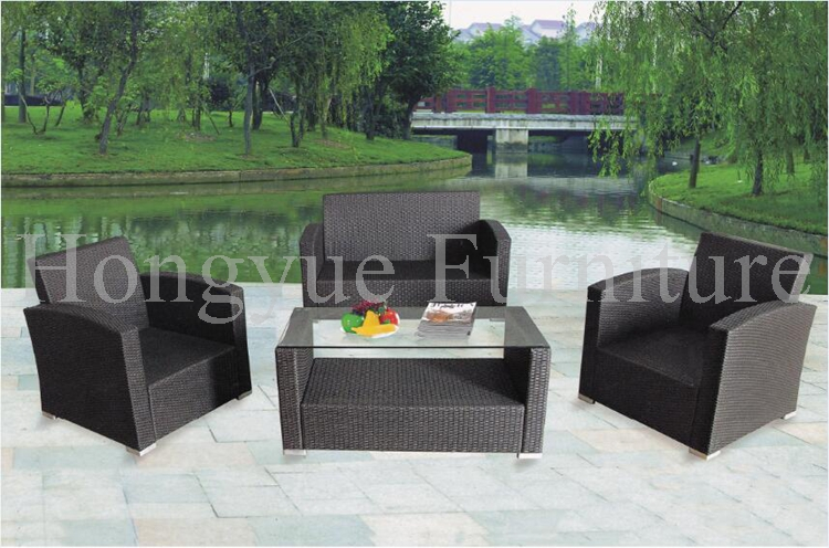 Garden patio rattan disassemble sofa set furniture with cushions 7 42 17s2203070 n28125 used disassemble