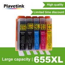 Plavetink 5 шт. картридж Замена для hp 655 XL для hp 655 Deskjet 3525 5525 4625 6625 4525 4615 картриджи принтера