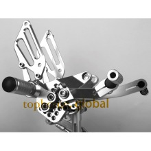 Silver color Motorcycle Parts CNC Foot Pegs For DUCATI 999 949 749 Rear Set