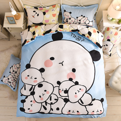New Bedding Set Duvet Cover Sets Bed Sheet European Style Adults Kids Bedroom Sets Queen Full Size Polyester Bedlinen in Bedding Sets from Home Garden