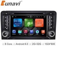 Eunavi 7 Octa 8 Core 2G RAM Android 6 0 Car DVD Radio Player for Audi