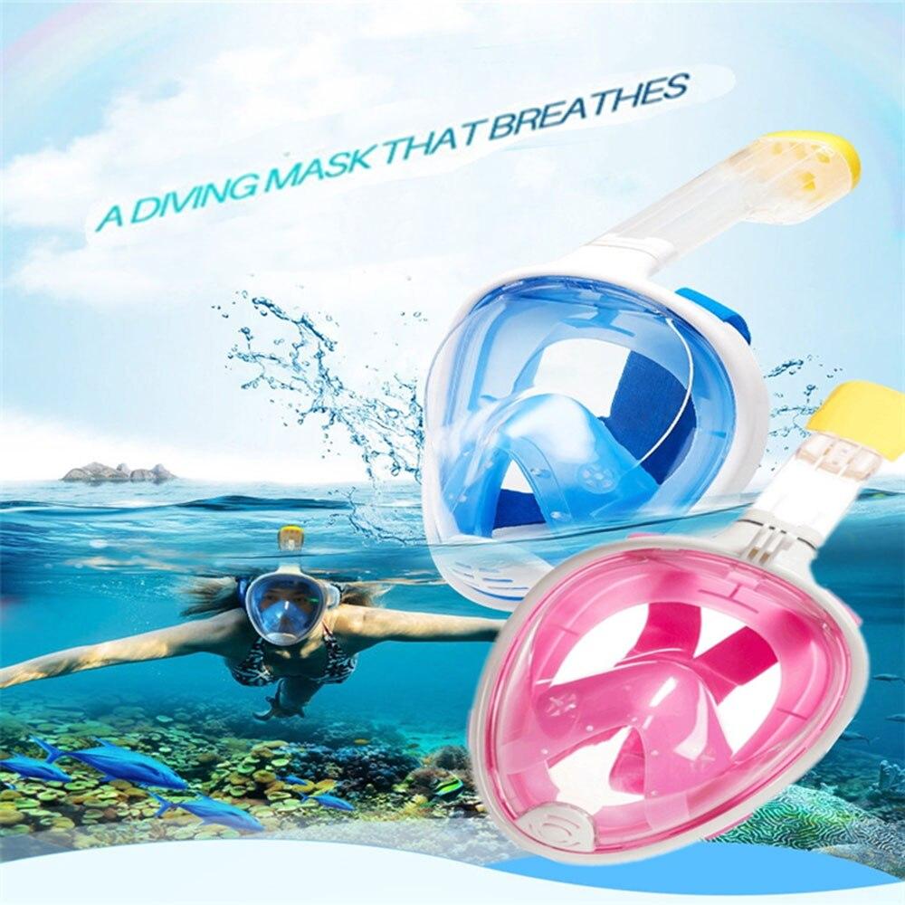 Nouveau masque de plongée sous-marine masque de plongée sous-marine masque de plongée sous-marine Anti-brouillard natation pêche sous-marine