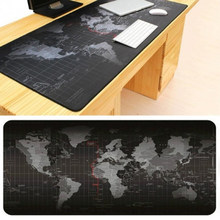 Large Old World Map Game Mouse Pad Mat Laptop Gaming Mousepad Rubber Mouse Pads Gamer Fashion Office Desk Pad(China)