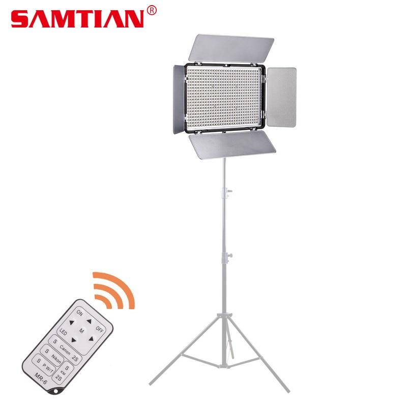 SAMTIAN TL 600AS LED Video Light Camera Light for Photography Bi color 3200K 5600K CRI95 Studio