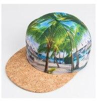 2016 Brand 3D Color Tree Printing pattern Men Women Sports Hats Baseball Cap Fashion trends Hip Hop Snapback Caps