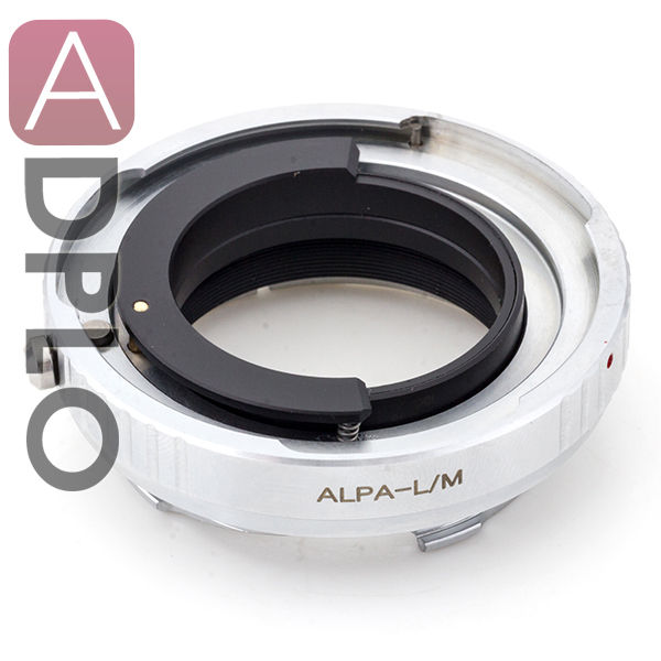 Lens Adapter suit For ALPA Mount Lens to Leica M Camera Adapter Ring M-E 240 M9 M8 M7 MP M6 M5 M4 pixco adapter suit for alpa mount lens