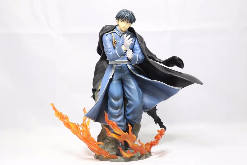 Anime Roy Mustang 1/8 Figure Fullmetal Alchemist Statue Ver. 1/8 PVC Action Figure Girl Resin Collection Model Toy Gifts Cosplay anime one piece dracula mihawk model garage kit pvc action figure classic collection toy doll
