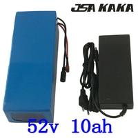 51.8V battery pack 52V 10Ah ebike battery 51.8V 10AH Lithium battery 52V 10AH electric bicycle battery with 58.8V 2A charger|Electric Bicycle Battery| |  -
