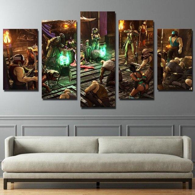 Mortal Kombat X Quadri Su Tela Soggiorno Wall Art Print Frame ...