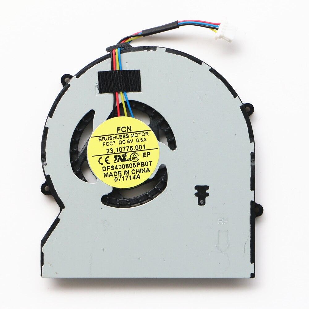 New Original Cpu Fan For HP ProBook 430 G1 430G1 470 Cpu Cooling Fan FCC7 23.10776.001 727766-001 original for hp probook 450 g2 455 440 445 g1 470 767433 001 cpu cooling fan mf60070v1 c350 s9a