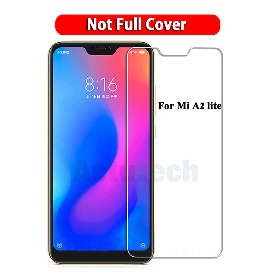 0 26mm 2 5D 9H Tempered Glass For Xiaomi Redmi Note 6 Pro Pocophone F1 Mi 8 SE A2 Lite Max 3 2 Redmi Note 5 Screen Protector in Phone Screen Protectors from Cellphones Telecommunications