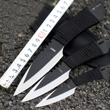 3 Pcs/Set American Saber Leggings Small Straight Knife Outdoor Survival Equipment for Tactical Survival Diving Knife
