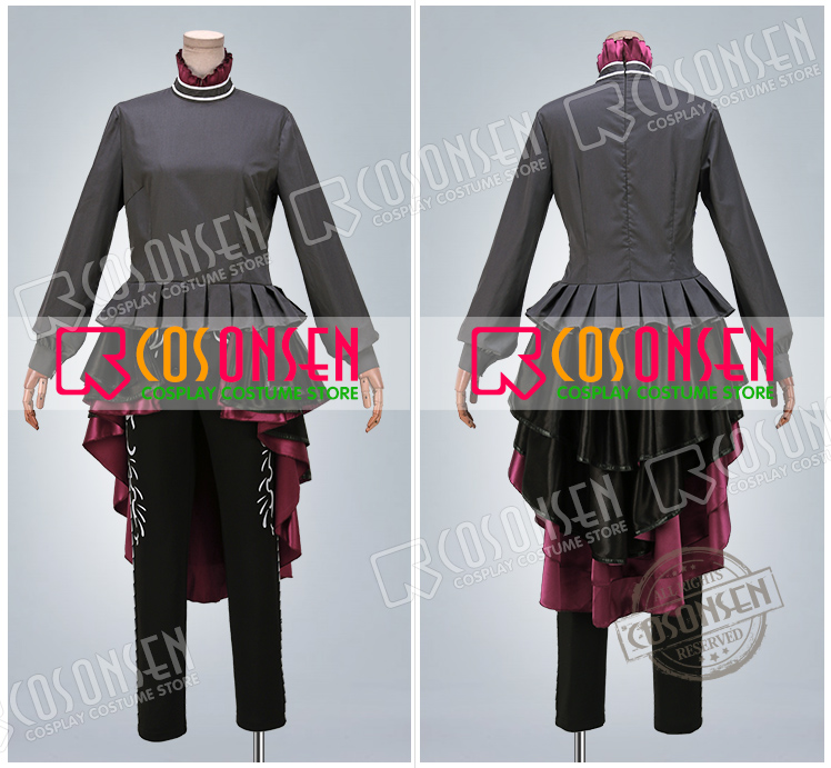 Idolish7 TRIGGER Center Kujo Tenn Heavenly Visitor Cosplay Costume COSPLAYONSEN new Full Set All Sizes adult costume