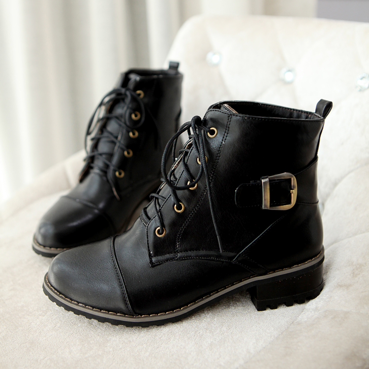 boot shoe laces Picture - More Detailed Picture about Women Buckle ...