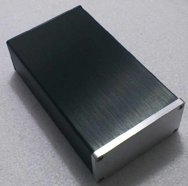 0905 mini Semua aluminium chassis amplifier/DAC/preamplifier/AMP Enclosure/kasus/DIY box (92*47*158mm)