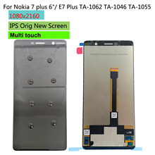 "Shyueda Orig New 6.0"" LCD For Nokia 7 plus / E7 Plus TA-1062 TA-1046 TA-1055 LCD Display Touch Screen Digitizer(China)"