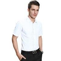 Summer New Men Young Cotton Business Short Sleeved Shirt Men S Body Twill Shirt Professional Men