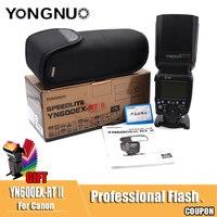 YONGNUO YN600EX RT II 2.4G Wireless HSS 1/8000s Master TTL Flash Speedlite for Canon 60D 650D Camera as 600EX RT YN 600EX RT II