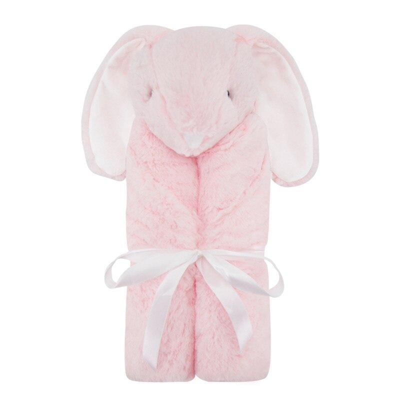Newborn Baby Sleeping Blanket Soft Winter Crystal Velvet Warm Blanket Cotton Baby Swaddling Infant Baby Swaddle Plush Bedding