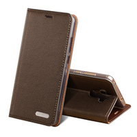 Luxury brand phone case Business grain magnetic deduction paragraph For iPhone X cell phone package All handmade custom