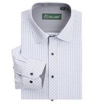 2014 New Plaid Fashion Mens Shirt Dress Shirts Business Shirt For Men High Quality Plus Size