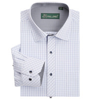 2014 New Plaid Fashion Mens Shirt Dress Shirts Business Shirt For Men High Quality Plus Size