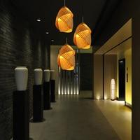 Creative bamboo lamp pendant light personality restaurant lights bar table lamp corridor pendant lamp led lamp AP8211639