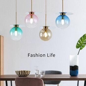 Modern Led Pendant Lamp Living Room Restaurant Decor Hanging Lamp Kitchen Fixtures Light Pendant Lighting Luminaire Luminaria