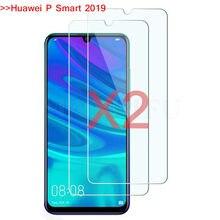 2 Pçs/lote 2.5D P Inteligente 2019 Tela de Vidro Temperado Protector Film Proteção Para Huawei P Inteligente 2019 POT-LX3 POT-LX1 6.21 polegadas