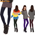 Newly Design Fashion Women Autumn Winter Velvet Pantyhose Female Bottoming Tights 170110 Drop Shipping